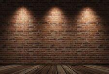Brick Wall Backdrop Photoshop Photography Background 6.5x5ft Vinyl Studio Prop
