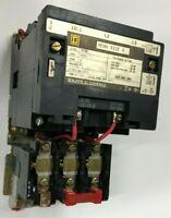 Square D 8536SDO1 8536SD01 Starter Size 2 120V Coil 3 Phase 600V w/B62 Heaters