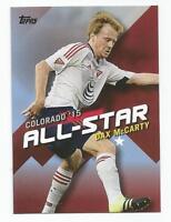 2016 Topps MLS Soccer Dax McCarty All-Star Insert NEW YORK RED BULLS #MLSA-14
