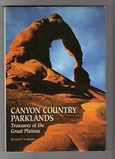 NATIONAL GEOGRAPHIC SOCIETY, CANYON COUNTRY PARKLANDS BOOK, VERY COLORFUL,