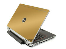 GOLD Vinyl Lid Skin Cover Decal fits Dell Latitude E6420 Laptop