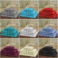 6 Piece Bathroom Towel Bale Set 100% Egyptian Cotton Premium Hand Bath Towels