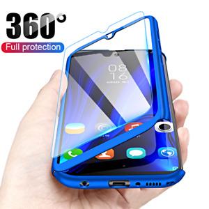 COVER per Huawei P Smart 2020 Y6p Y5p P40 Lite E Pro CUSTODIA + VETRO TEMPERATO