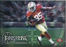 Chrome Football 2014 FANTASY FOCUS FF-VD Vernon DAVIS-San Francisco 49ers