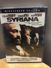 Syriana (DVD, 2006, Widescreen) NEW!!