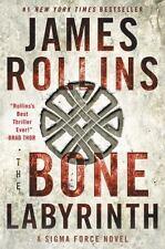 Sigma Force Novels: The Bone Labyrinth 10 by James Rollins (2017, Paperback)
