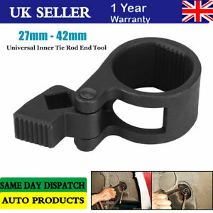 """1/2"""" Tie Rod Wrench  27 - 42mm  Universal Steering Track Rod Removal Garage Tool"""