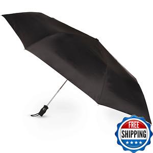 Men's Tote Outdoor Sport Golf Auto Open Close Folding Umbrella Canopy Portable