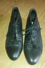 Unbranded 100% Leather Lace-up Heels for Women
