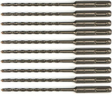 3/16 x 6 Inch, SDS Plus Rotary Hammer Drill Bits , Brick Stone and Concrete, 10