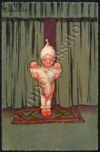 Donna con neonati / illustratore Colombo