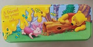 Winnie The Pooh Pencil Tin Case