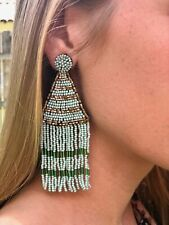 Drop Earrings Glimmering Beaded