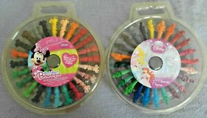DISNEY 24 Character Shaped Crayons - Minnie Mouse, Disney Princess ages 3+