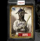 Topps Project70 #666 Babe Ruth by Alex Pardee - PRESALE