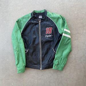 Women's Wilson Leather Billy LabonteNASCAR Motorcycle Jacket Chase Authentics L