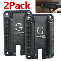 Gun Magnet Mount Gun Holder Concealed Holster For Car Wall Vehicle Cabinet