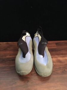 Orvis Water Shoes Men's Size 12 Gray/Green.