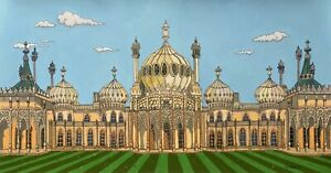 Graham cameron original artwork. the art of G exhibition. the royal pavilion