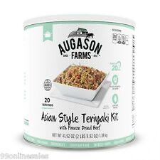 Augason Farms Asian Style Teriyaki Freez Dried Beef Emergency Survival Camp Food