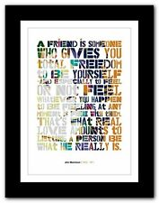 More details for jim morrison ❤ typography quote poster art limited edition print the doors #7