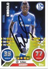 Breel Embolo  FC Schalke 04 Match Attax  Card Fußball original signiert 342504