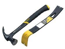 Stanley FatMax Antivibe Claw Hammer 576g / 20oz + Wonder Bar Pry Bar XMS19AVHBAR