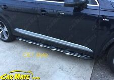 AUDI 2016 2017 2018 Q7 OE1 STYLE  SIDE STEPS RUNNING BOARDS. FITTING AVAILABLE