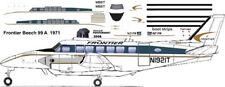 Frontier Beechcraft Beech-99 decals for 1/144 kits