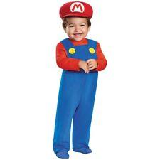 Mario Infant Costume Mario Brothers Halloween Fancy Dress