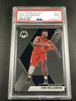 ZION WILLIAMSON 2019 PANINI MOSAIC #209 RED JERSEY SP VARIATION ROOKIE RC PSA 9