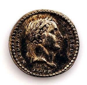 Francia-Napoleón Bonaparte. Medalla 1804 Plata: 1,3 g. EBC/XF.