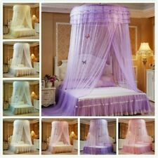 Elegant Dome Bedding Mosquito Net Canopy Princess Bed Tent Curtain Foldable