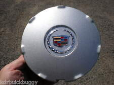 2008 - 2009 Cadillac STS  CTS Painted Silver OEM Center Cap  P/N 9597372