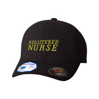 Flexfit Hats for Men & Women Registered Nurse Embroidery Dad Hat Baseball Cap