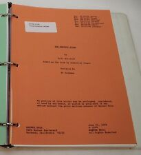 THE PERFECT STORM / 1999 Movie Script Screenplay with Schedules, George Clooney