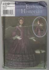 Simplicity Sewing Pattern 4510 Miss Civil War Day Dress Costume Sz 16-24