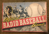 1939 TOY CREATIONS OFFICIAL RADIO BASEBALL GAME ***VERY RARE***