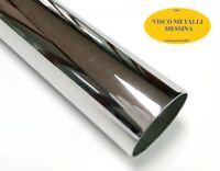 Tubo Tondo alluminio Anticorodal 6060 mm 50x2,0 lung.1 mt fresa tornio cnc hobby
