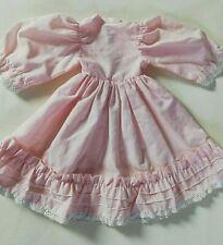 robe rose ancienne de poupée, Bella, raynal ou autre, sfbj etc ...