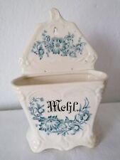 Alter Vorratsbehälter Mehl Keramik Blumen