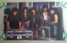 BON JOVI 1987 Backstage Band Photo by Mark Weiss POSTER RARE Jon Bon Jovi