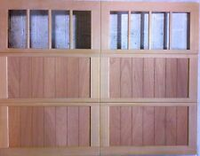 Wood Garage Door Overhead Carriage House Design  9'x7' AmanaDoors Model 103W8