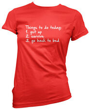 Things to do Today  - Fashion Hipster Cute Tumblr Womens T-Shirt Tee