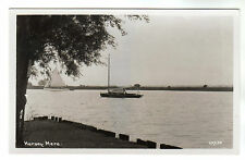 Horsey Mere - Real Photo Postcard c1950s / Hemsby
