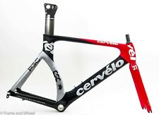 Cervelo P3C 58cm carbon frameset English BB time trial triathlon QR Cycling tt