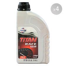 Fuchs Titan Race Gear 90 LS Performance Gear & Limited Slip Diff Oil 4x1 Litre