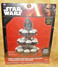 Star Wars,Kylo Ren Cupcake/Treat Stand, Cardboard,Wilton,1512-5080,12x16.5 In.