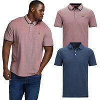 Jack & Jones Mens Plus Size Polo T-shirt Smart Short Sleeves Tee Top  XXXL- 6XL