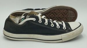 Converse Chuck Taylor All Star Low Canvas Trainers M9166 Black UK8/US8/EU41.5